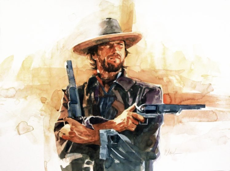 Clint Eastwood Artwork Movies Hd Wallpapers Desktop And Mobile