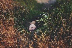 women, Model, Women outdoors, Grass