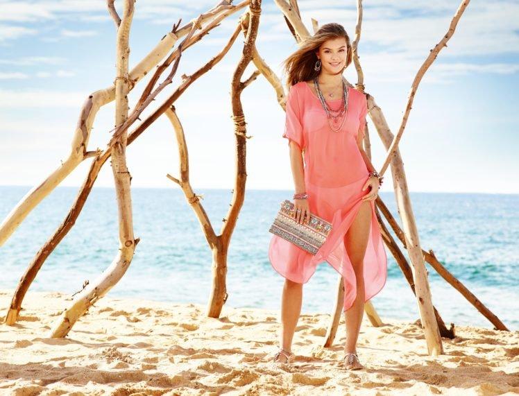 Nina Agdal Model Beach Danish Hd Wallpapers Desktop And Mobile