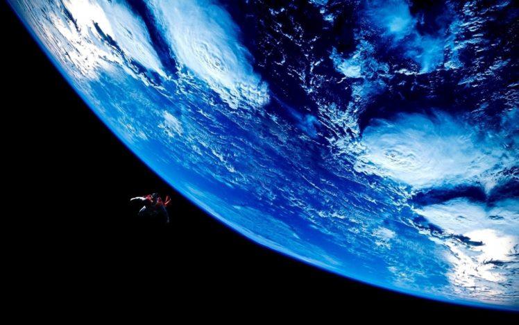 Superman, Man of Steel, DC Comics, Earth, Space, Batman v Superman: Dawn of Justice HD Wallpaper Desktop Background