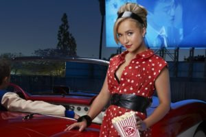 actress, Blonde, Hayden Panettiere, Popcorn