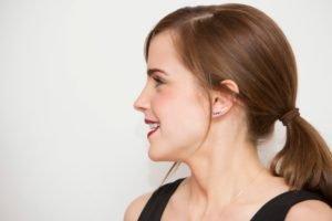 women, Brunette, Emma Watson, Smiling