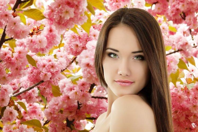 women, Brunette HD Wallpaper Desktop Background