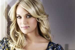 women, Blonde, Carrie Underwood