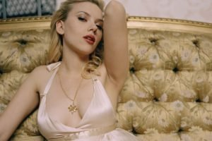 Scarlett Johansson, Women, Blonde, Actress, Dress