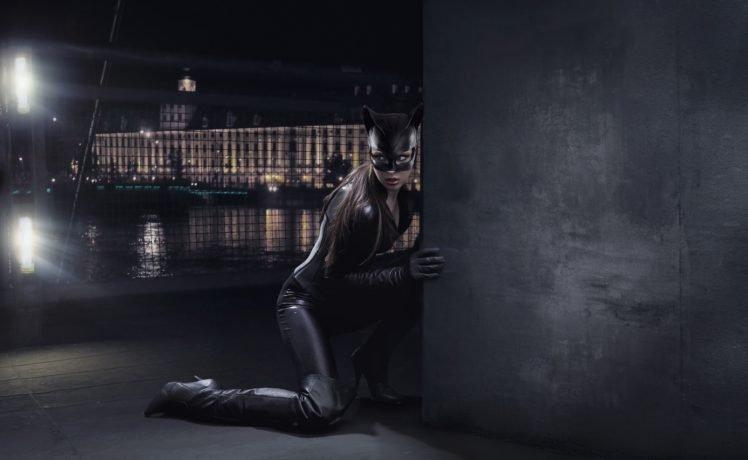 model, Women, Catwoman HD Wallpaper Desktop Background