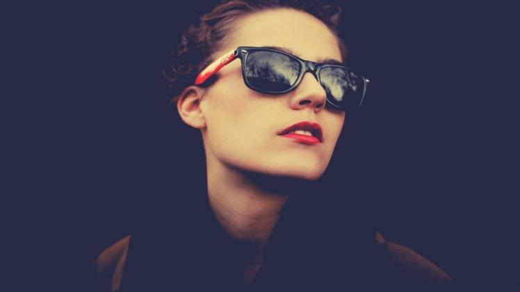 sunglasses, Women, Ray Ban HD Wallpaper Desktop Background