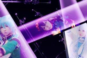 Sword Art Online, Asada Shino, Yuuki Asuna, Konno Yuuki, Cosplay