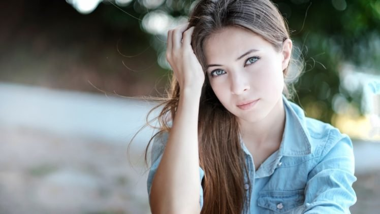 brunette, Long hair, Hayqal Photography, Aigel, Women HD Wallpaper Desktop Background
