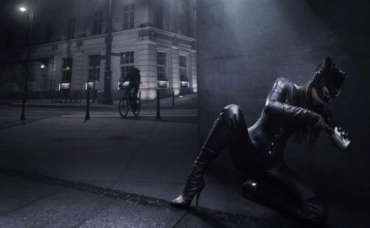 Catwoman, Model HD Wallpaper Desktop Background