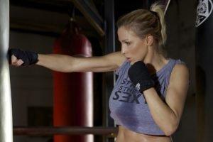 Jordan Carver, Model, Boxing