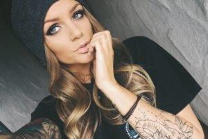 Kelsey Nicole, Blonde, Eyes, Selfies