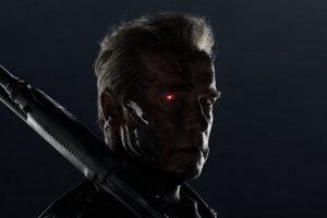 Terminator, Arnold Schwarzenegger, Terminator Genisys, Cyborg, Weapon, Movies, T 800