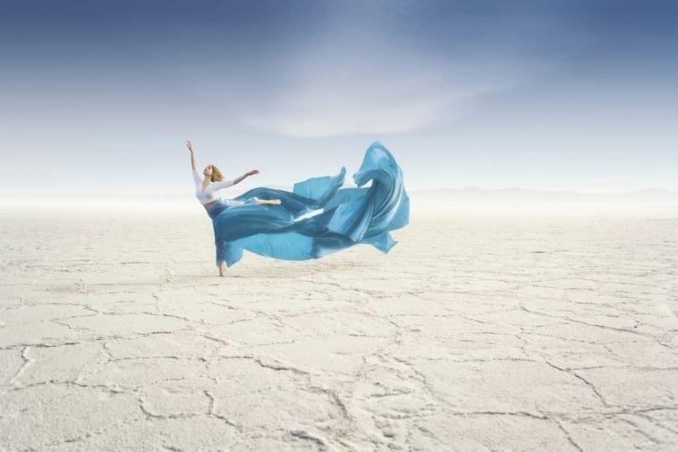 dancing, Women, Desert, Sand HD Wallpaper Desktop Background