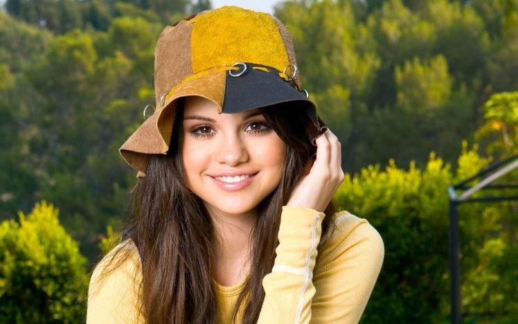 Selena Gomez, Women, Brunette, Face HD Wallpaper Desktop Background