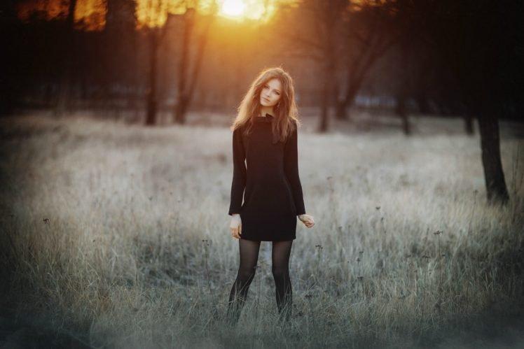 women, Brunette, Model, Photography, Ksenia Malinina HD Wallpaper Desktop Background