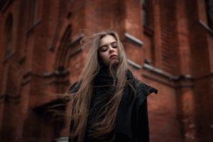 women, Brunette, Model, Windy, Ekaterina Kuznetsova