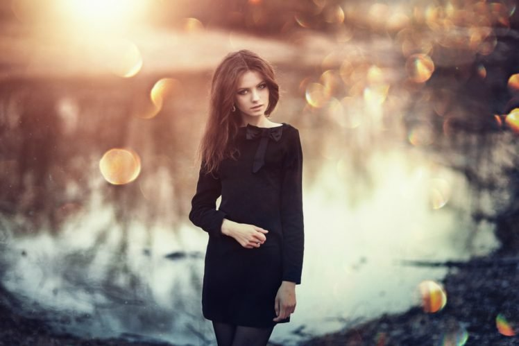 women, Brunette, Model, Ksenia Malinina HD Wallpaper Desktop Background