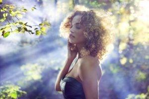 women, Curly hair, Women outdoors, Rose Bertram