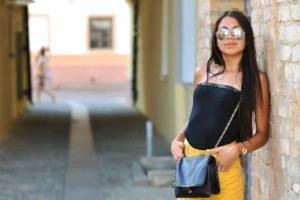 sunglasses, Women, Brunette