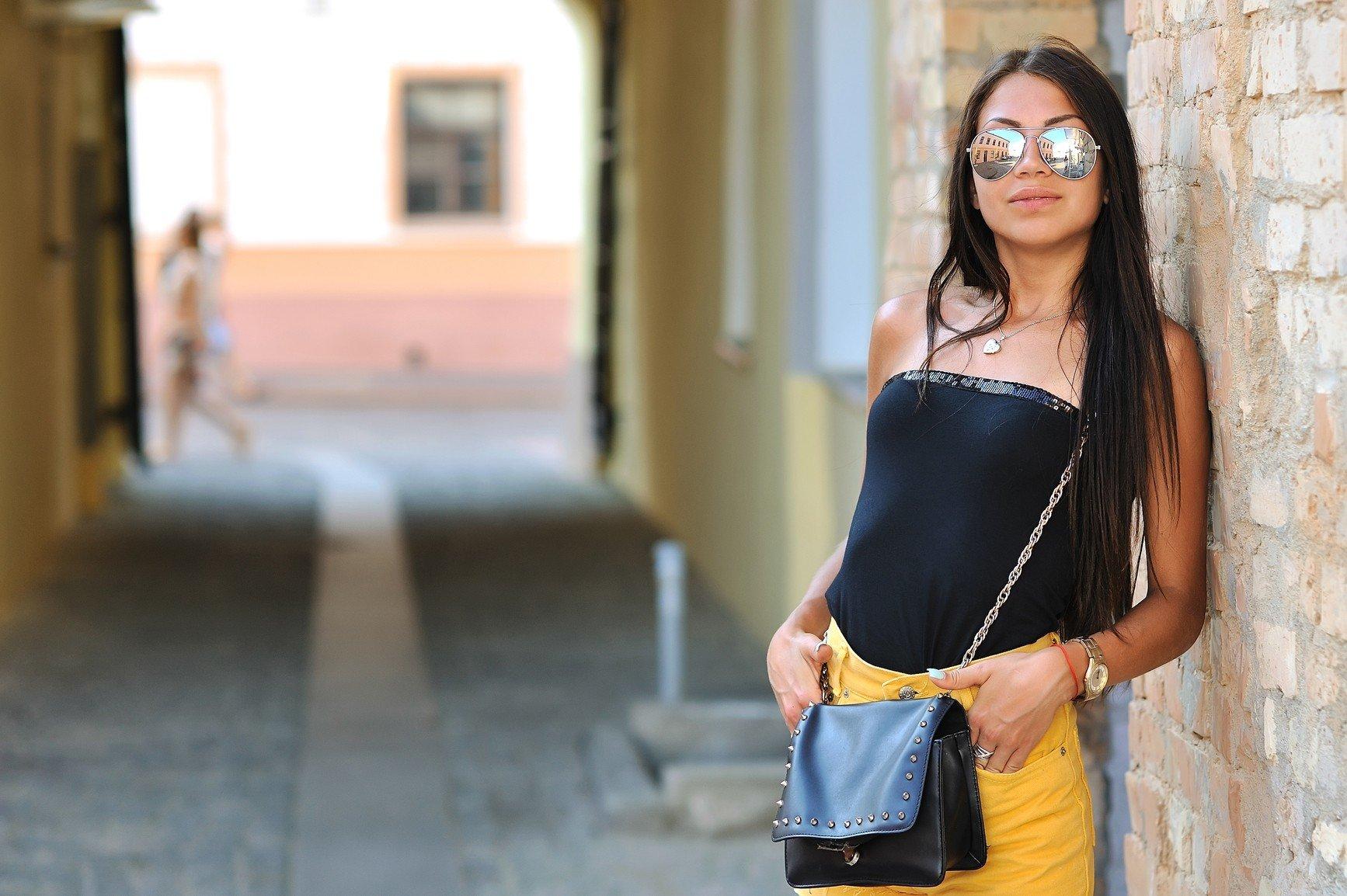 sunglasses, Women, Brunette Wallpaper