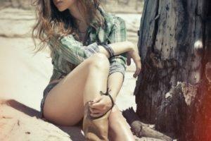 women, Legs, Brunette