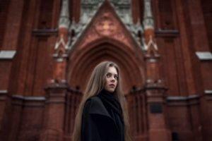 Ekaterina Kuznetsova, Women, Model, Brunette, Blue eyes