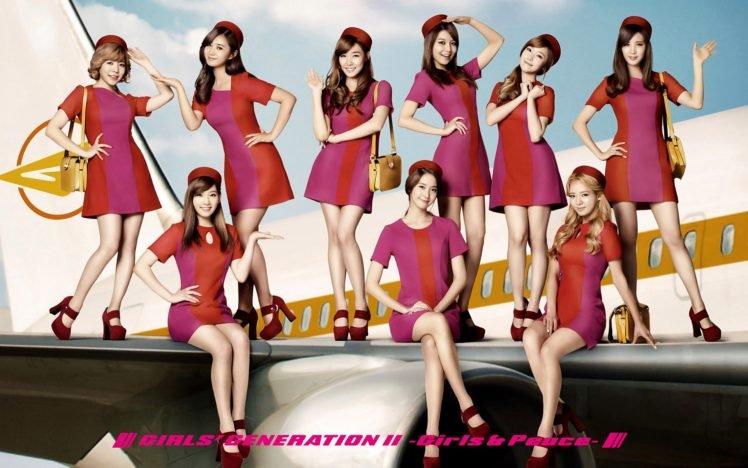 Girls Generation, K pop, Singer, Women, Asian HD Wallpaper Desktop Background