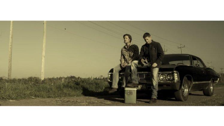 Supernatural Sam Winchester Dean Chevrolet Impala Jared Padalecki Jensen Ackles