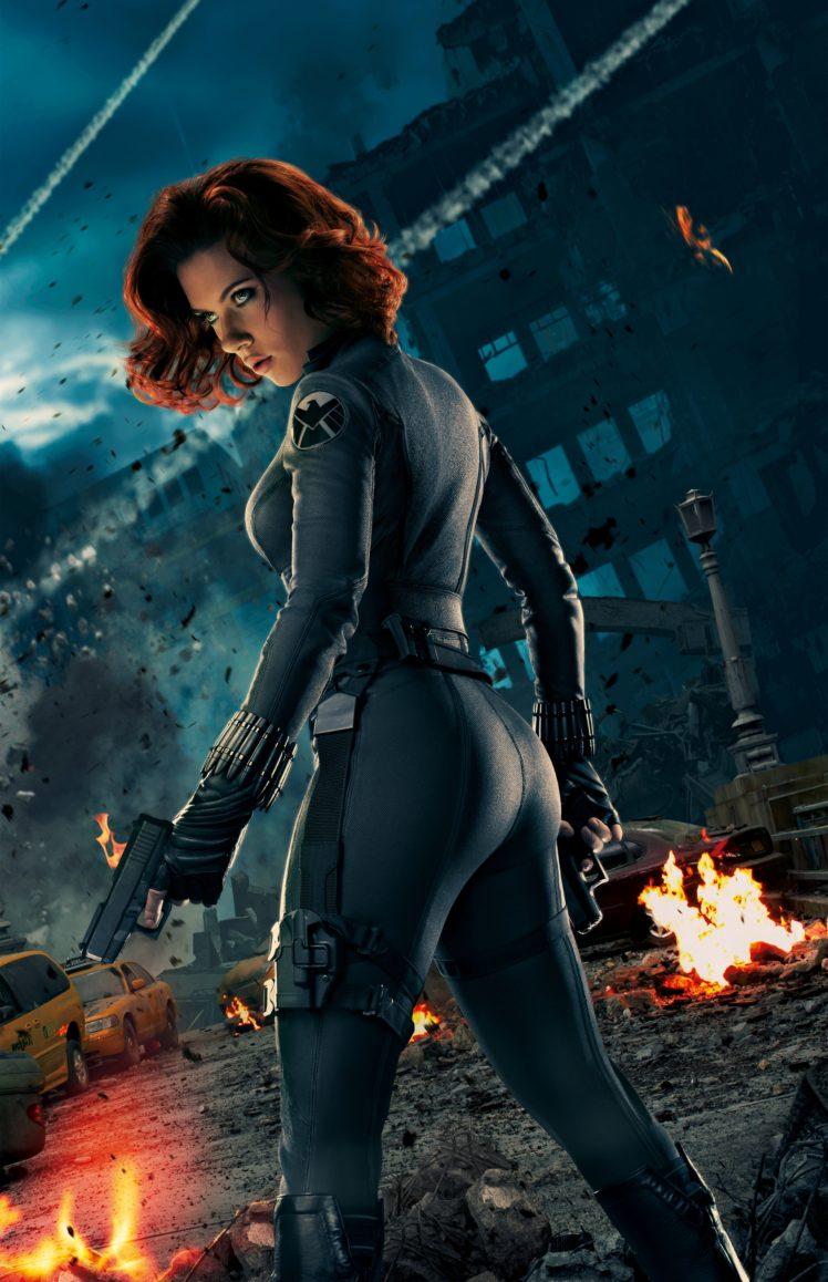 Black Widow Scarlett Johansson Avengers Age Of Ultron HD Wallpaper Desktop Background