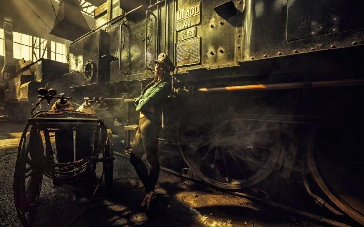 steampunk, Women, Model HD Wallpaper Desktop Background
