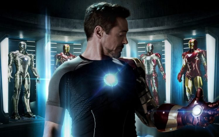 Iron Man, Robert Downey Jr., Tony Stark, Iron Man 3 HD Wallpaper Desktop Background