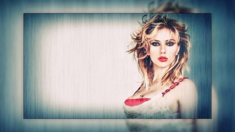 Scarlett Johansson HD Wallpaper Desktop Background
