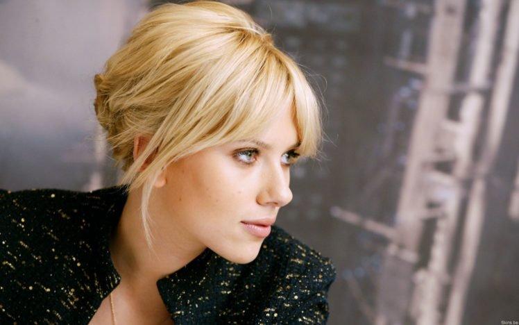 Scarlett Johansson Blonde Women Hd Wallpaper Desktop Background