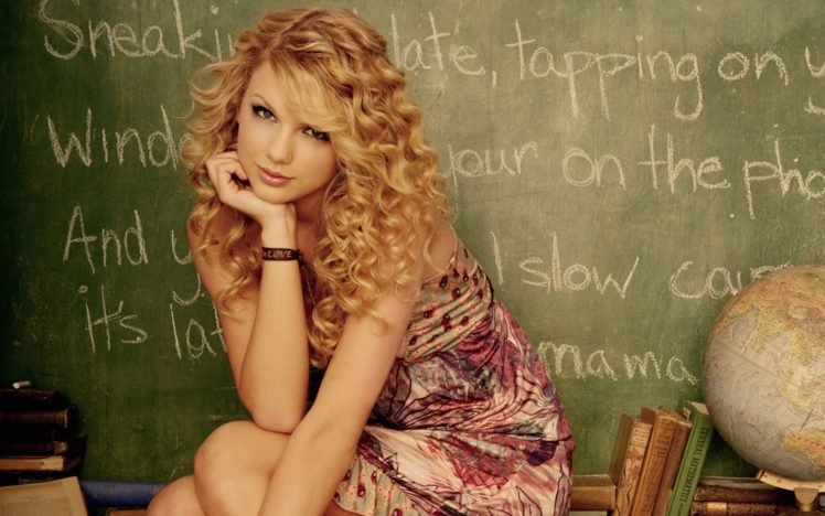 model, Taylor Swift, Quote, Singer, Actress HD Wallpaper Desktop Background