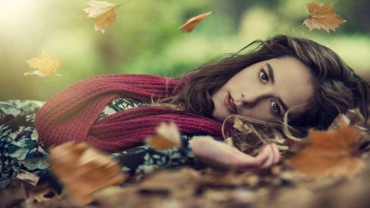 women, Brunette, Model HD Wallpaper Desktop Background