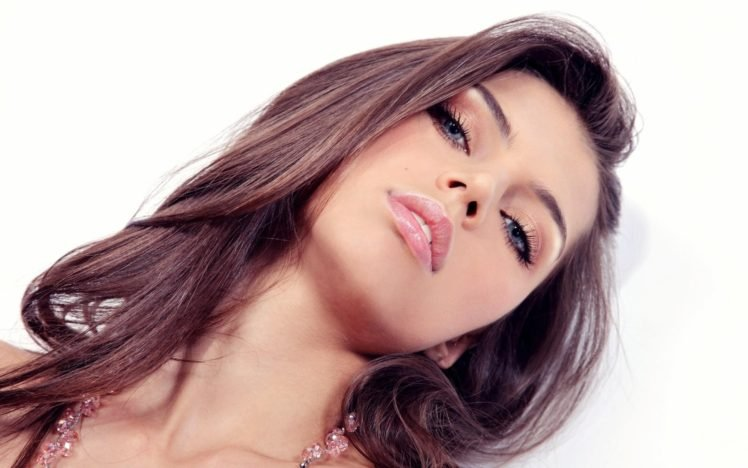 women, Brunette, Face HD Wallpaper Desktop Background
