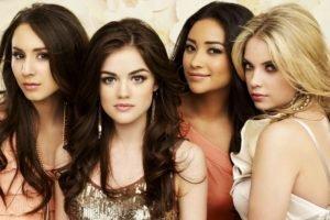 Troian Bellisario, Ashley Benson, Shay Mitchell, Pretty Little Liars