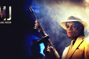 Michael Jackson, Pop music, Machine gun