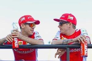 Sebastian Vettel, Kimi Raikkonen, Ferrari F1, Ferrari formula 1, Formula 1, Ferrari