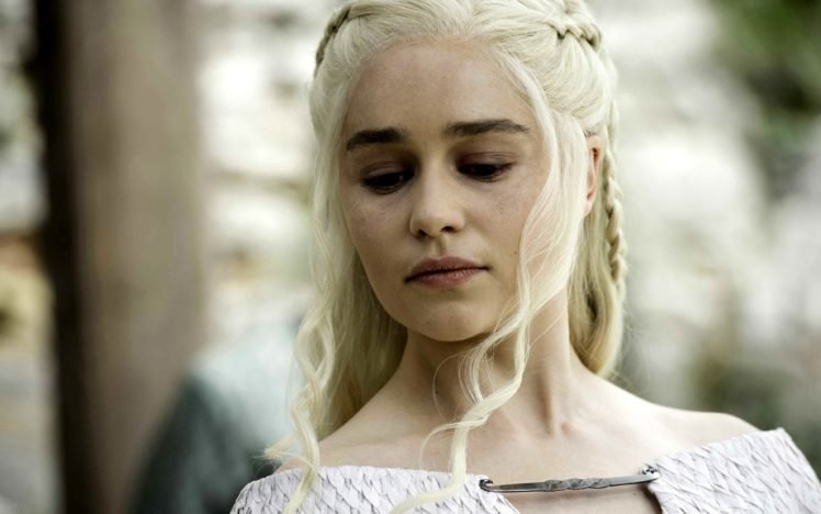 Daenerys Targaryen, Game of Thrones, Women, Emilia Clarke, Blonde HD Wallpaper Desktop Background