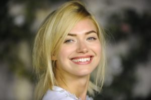 women, Blonde, Smiling, Looking at viewer, Portrait, Imogen Poots
