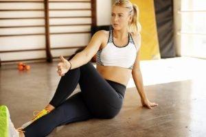 Maria Sharapova, Yoga