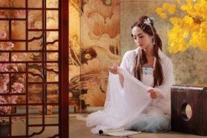 Asian, Women, Model