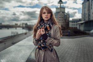 women, Model, Auburn hair, Russia, Georgiy Chernyadyev, Anastasia Scheglova