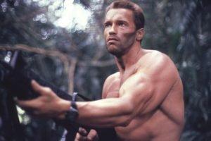 Arnold Schwarzenegger, Predator (movie), Muscles