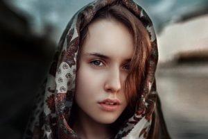 women, Face, Portrait