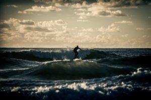 sea, Sports, Men, Surfers, Waves