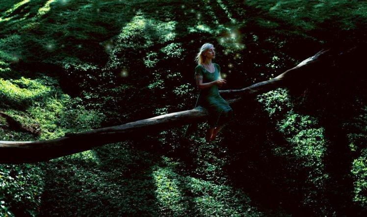 women, Women outdoors, Trees, Nature HD Wallpaper Desktop Background