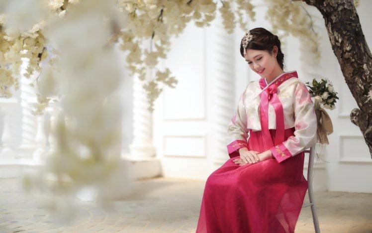 model, Asian, Women, Korean HD Wallpaper Desktop Background